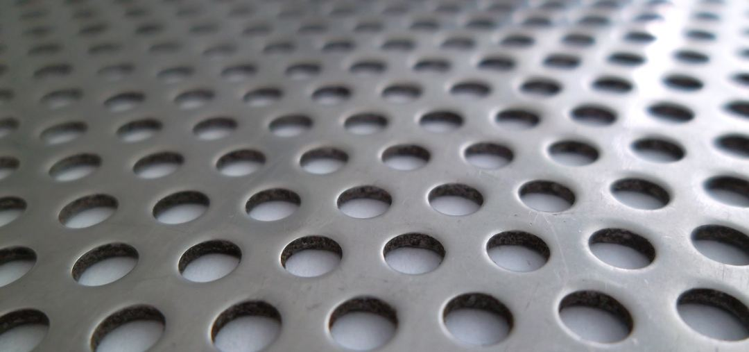 Stainless Steel Perforated Plate material
