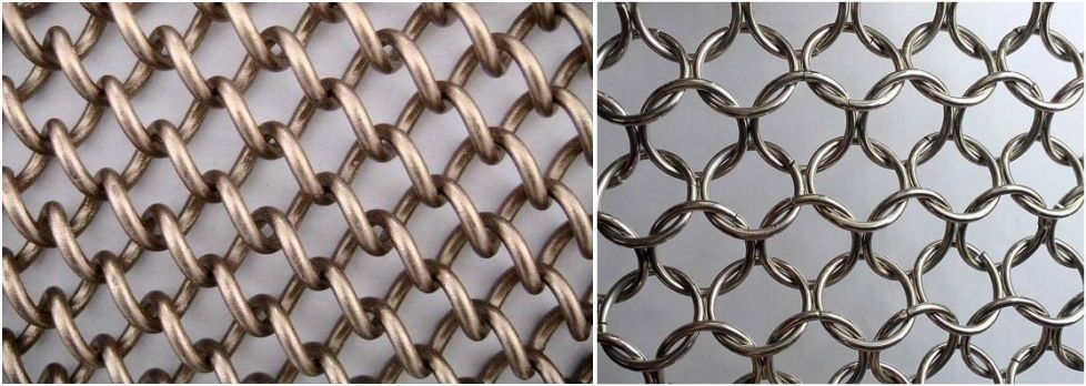 architecture metal curtain mesh